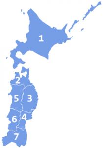 北海道・東北地方