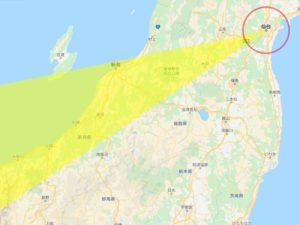 2020年恵方巻 仙台の西南西