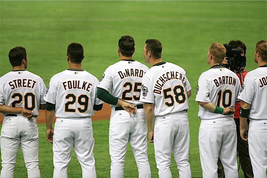 《MLB》背番号にまつわるエトセトラ